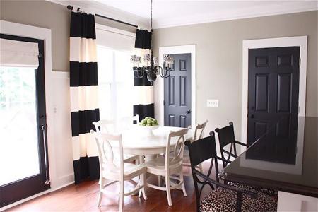 نمونه هایی از شیک ترین رنگ برای درب های داخلی ساختمان