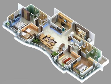 4mzp9luk نقشه ساختمان سه بعدی