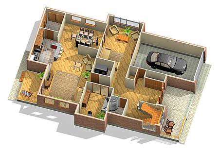 a5fvfb22 نقشه ساختمان سه بعدی