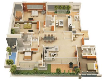 gej9en6e نقشه ساختمان سه بعدی
