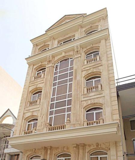 hxj0arpz عکس طراحی نمای رومی ساختمان