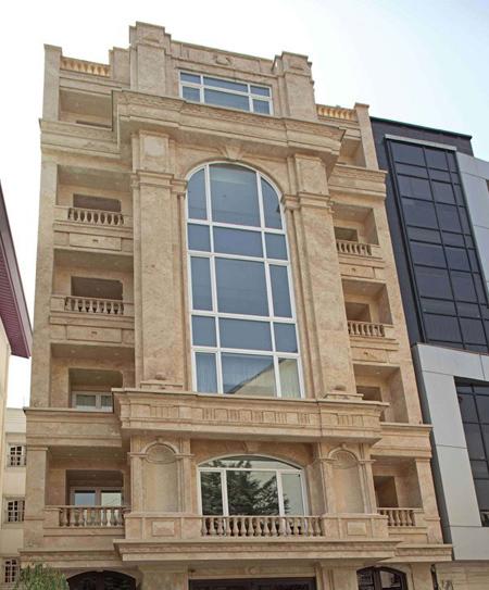 tfreku5h عکس طراحی نمای رومی ساختمان